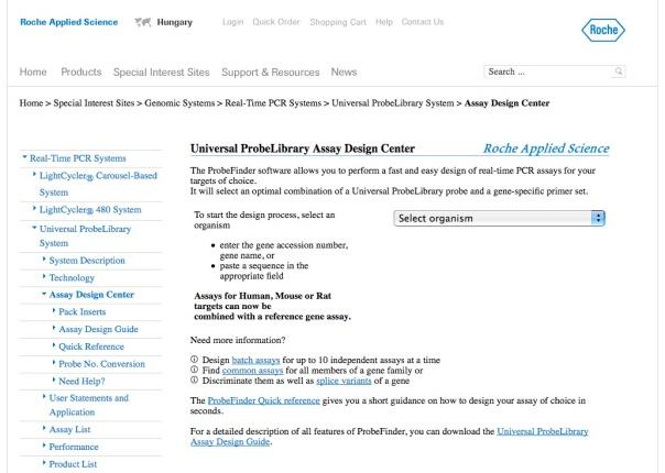 UPL Assay Design Center